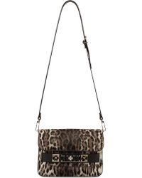 Proenza Schouler Greyscale Leopard Print Calf_hair Mini Ps11 Bag - Lyst