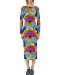 Mara Hoffman Cutout Column Dress - Lyst