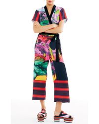 Clover Canyon - Painted Garden Jumpsuit - Lyst