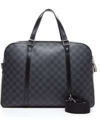 Louis Vuitton Preowned Damier Graphite Jorn Bag - Lyst