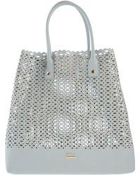 Furla Handbag gray - Lyst
