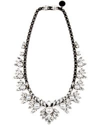 """Ellen Conde - Small Bib Necklace, 20"""" - Lyst"""