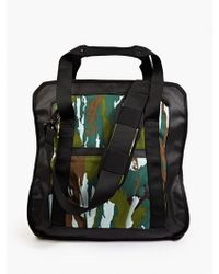 Stone Island Men'S Camouflage Shopper Bag - Lyst