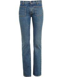 Saint Laurent Flared Jeans - Lyst