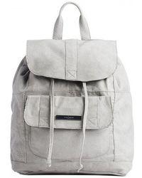 Prada Soft Calfskin Medium Backpack in Green (OLIVE GREEN(MILIT ...