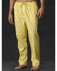 Polo Ralph Lauren Allover Pony Sleep Pant - Lyst