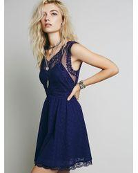 Free People Victoria Mini Dress - Lyst