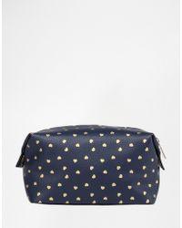 Mi-Pac - Mi Pac Hearts Makeup Bag - Lyst
