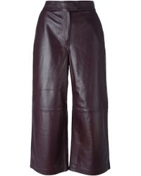 Avelon - Leather Culottes - Lyst