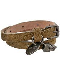 Alexander McQueen Double Wrap Bracelet - Lyst
