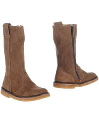 Pepe Beige Boots - Lyst