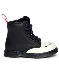 Dr. Martens X Adventure Time 'Marceline B' Leather Infant Boots white - Lyst
