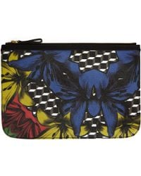 Pierre Hardy Large Black Cube Lily Pouch - Lyst