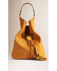 Burberry - The Large Ashby Leather Bag - Lyst