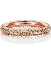Caroline Creba - Stackable Ring In Silk - Lyst