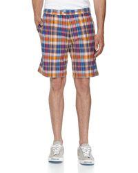Peter Millar Manchester Plaid Golf Shorts - Lyst