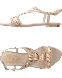 Kat Maconie Sandals beige - Lyst