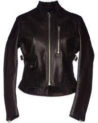Acne Studios Black Jacket - Lyst