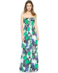 Shoshanna Jennifer Maxi Dress  - Lyst