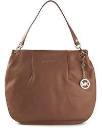 Michael Kors Brown Shoulder Bag - Lyst