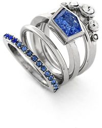 Vince Camuto - Stackable Stone Rings - Lyst