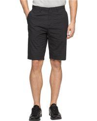 Calvin Klein Micro Check Chino Shorts - Lyst