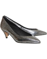 Office Galaxy Almond Toe Court - Lyst