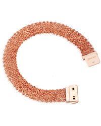 Carolina Bucci - Rose Gold Woven Bracelet - Lyst