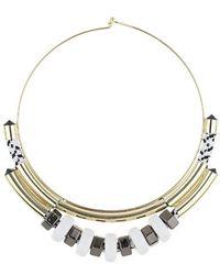 Topshop Ring Torque Collar black - Lyst