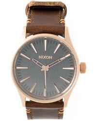 Nixon 'Sentry 38' Watch - Lyst