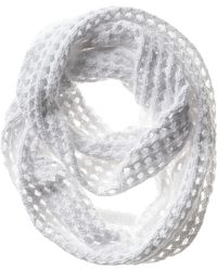 Banana Republic Pointelle Double Infinity Scarf - Lyst