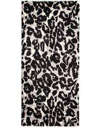 Diane von Furstenberg Vintage Leopard Vault Kenley Cashmere Scarf - Lyst