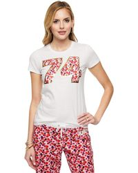 Juicy Couture | Marina Floral Graphic Tee | Lyst