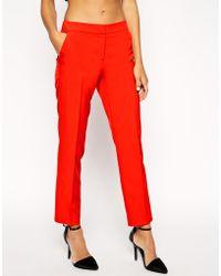 Asos Premium Clean Tailored Pant - Lyst