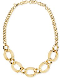 Alexis Bittar Lucite Curblink Necklace Made To Order - Lyst