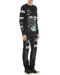 Hood By Air Abstract Graphic Long-sleeve T-shirt - Lyst