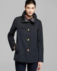Ellen Tracy - Coat Single Breasted Swing - Lyst