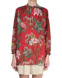 Etoile Isabel Marant Floral-Print Wescott Shirt green - Lyst