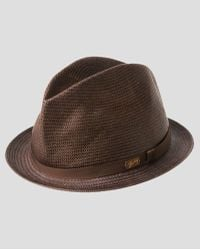 Bailey Of Hollywood Loche Center Dent Crushed Straw Hat - Lyst