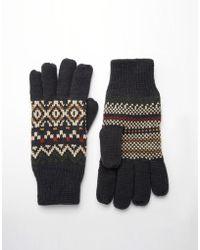 Jack & Jones | Kelo Knit Gloves | Lyst