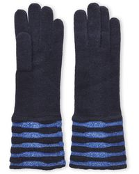 Portolano Reversible Two-tone Gloves - Lyst