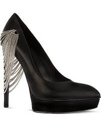 Saint Laurent Janis 105 Chain Shoes - For Women - Lyst