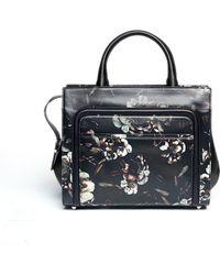 Jason Wu Daphne 2 Floral Print Leather Crossbody Tote - Lyst
