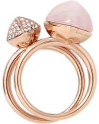 Michael Kors | Pyramid Duo Ring Set | Lyst