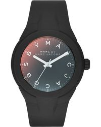 Marc By Marc Jacobs 38Mm X-Up Silicone Watch - Lyst