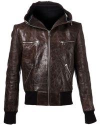 Unconditional Textured Jacket - Lyst