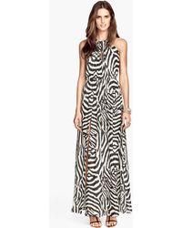 H&M Maxi Dress - Lyst