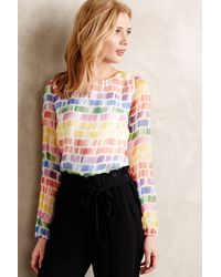 Line & Dot Maile Blouse - Lyst