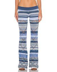 Goddis Alley Pant blue - Lyst