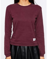 A Question Of Organic Fitted Sweat - Lyst